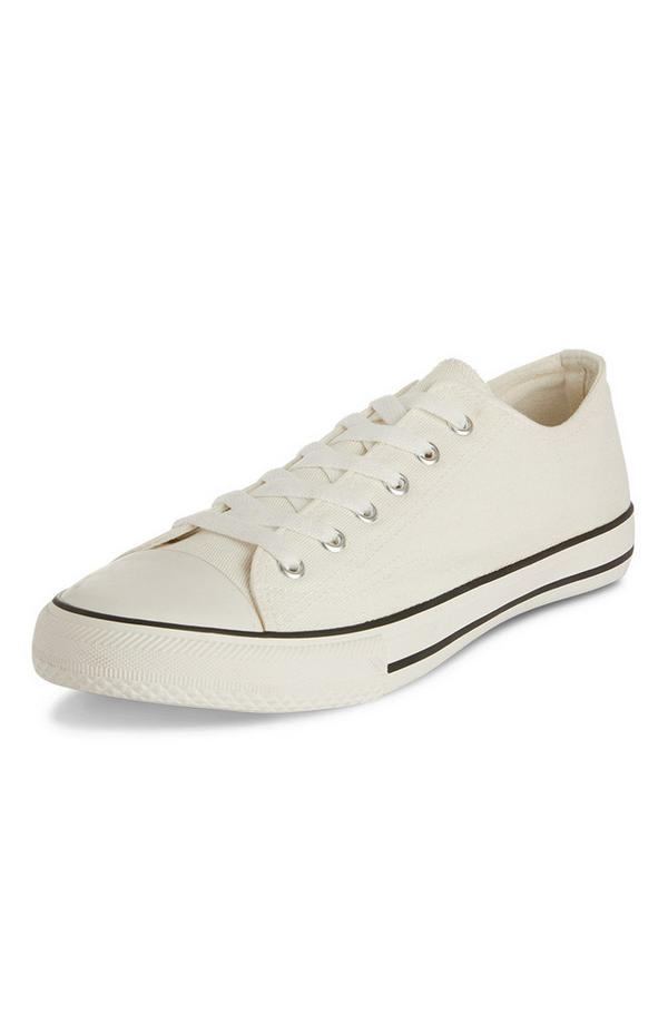 White Classic Low Top Trainers