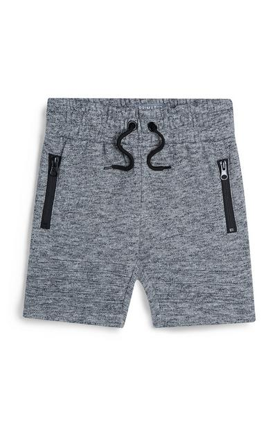 Younger Boy Grey Shorts