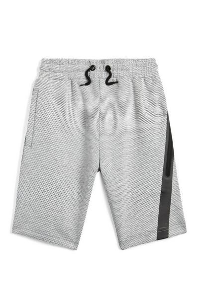 Older Boy Grey Sporty Joggers