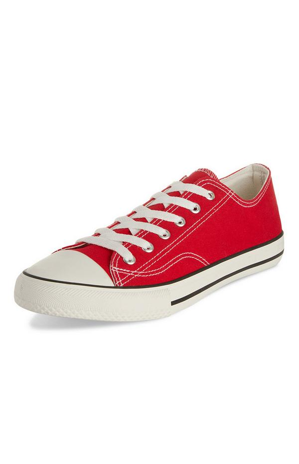 Red Classic Low Top Sneakers