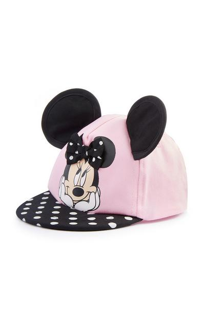 Baby Girl Pink Minnie Mouse Ears Cap