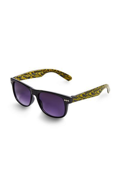 "Gelbe ""Batman"" Sonnenbrille"