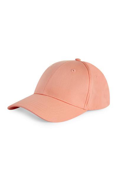 Pfirsichfarbene Kappe