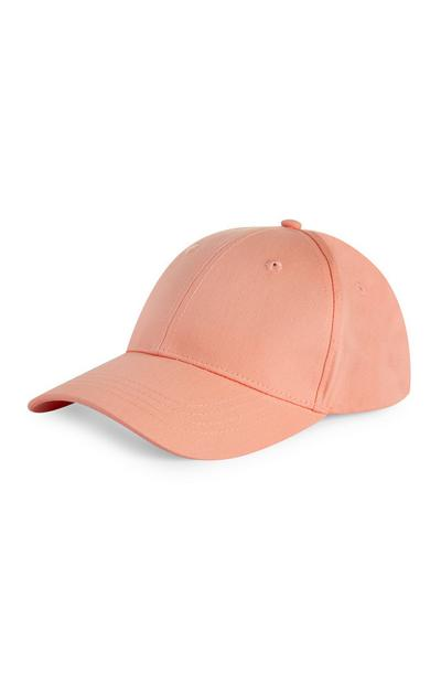 Plain Peach Cap
