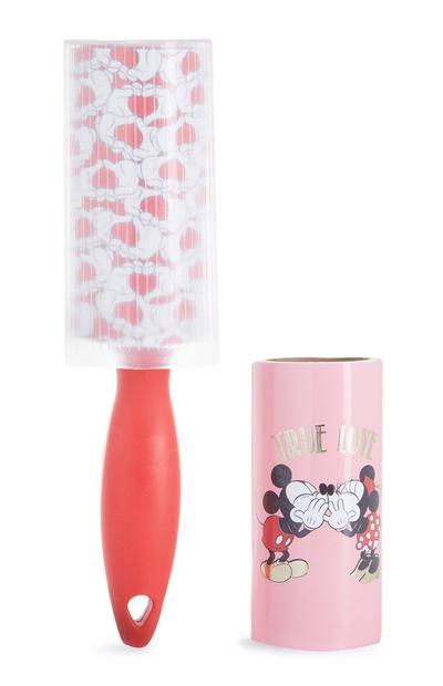 Rouleau anti-peluches Mickey et Minnie Mouse