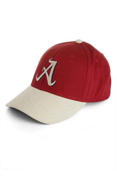 Gorra de béisbol con la letra «A»