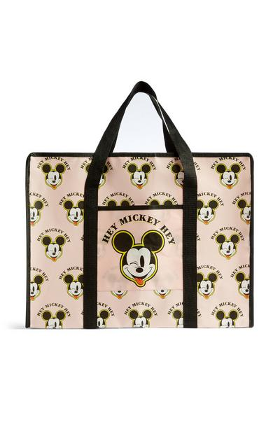 Light Pink Mickey Mouse Shopper