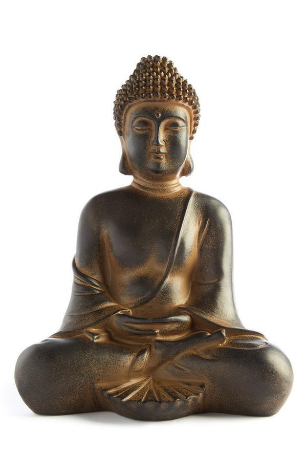 Buddha-Dekostatue