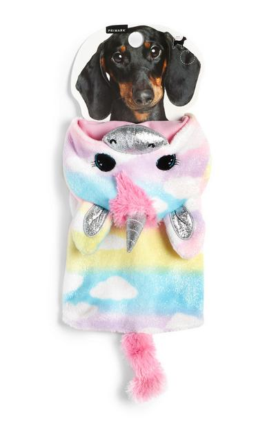 Multicolor Pet Unicorn Outfit