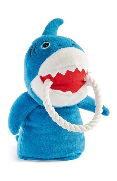 Squalo blu giocattolo per animali
