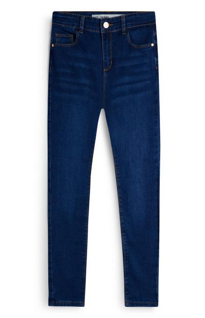 Indigoblaue Skinny Jeans (Teeny Girls)