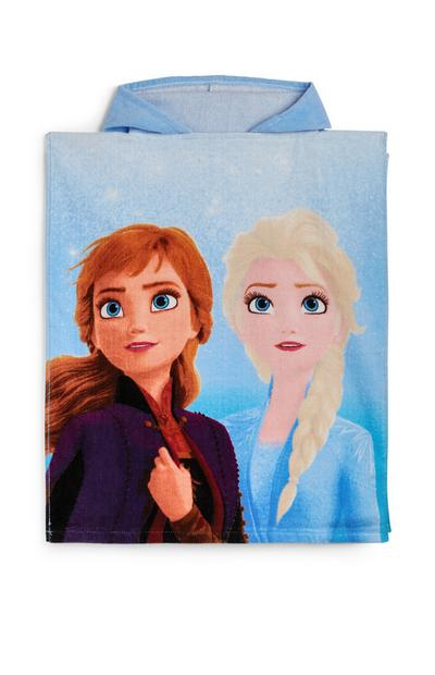 Blue Frozen Hooded Towel