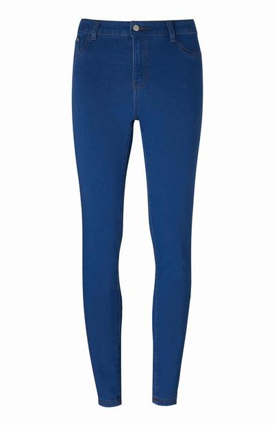 Dunkelblaue Push-up-Jeans