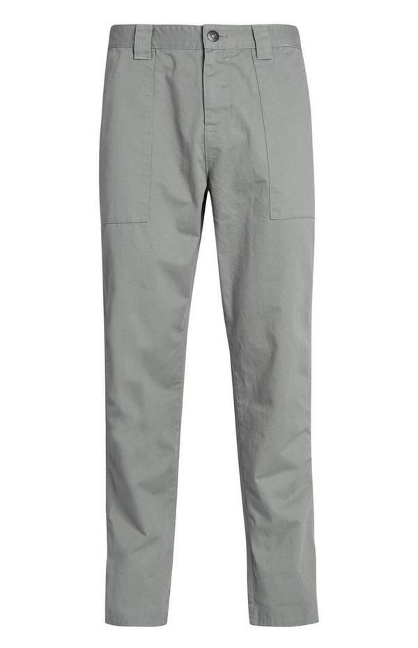 Lahke hlače kaki barve