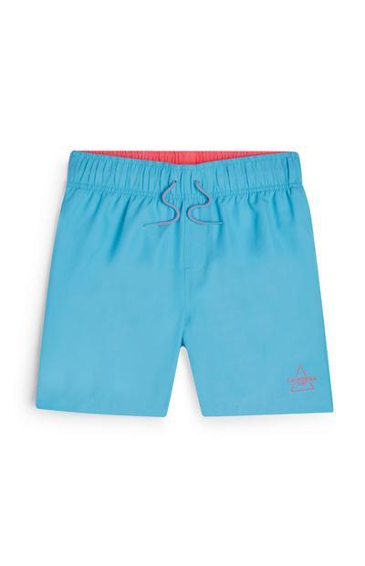 Older Boy Turquoise Swim Shorts