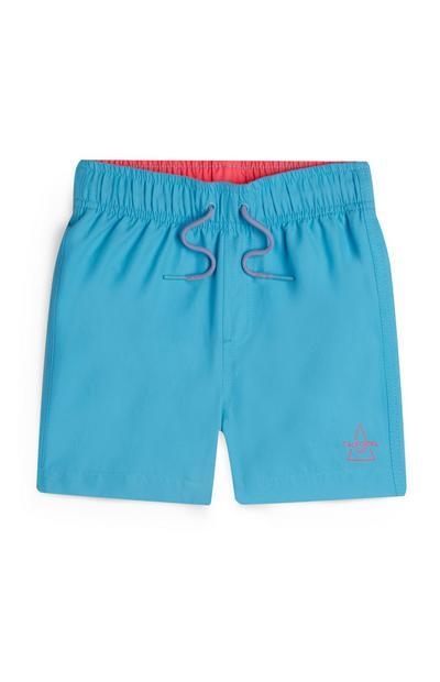 Younger Boy Turquoise Swim Shorts