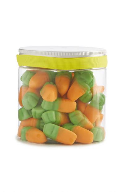 Gummy Carrot Sweet Jar