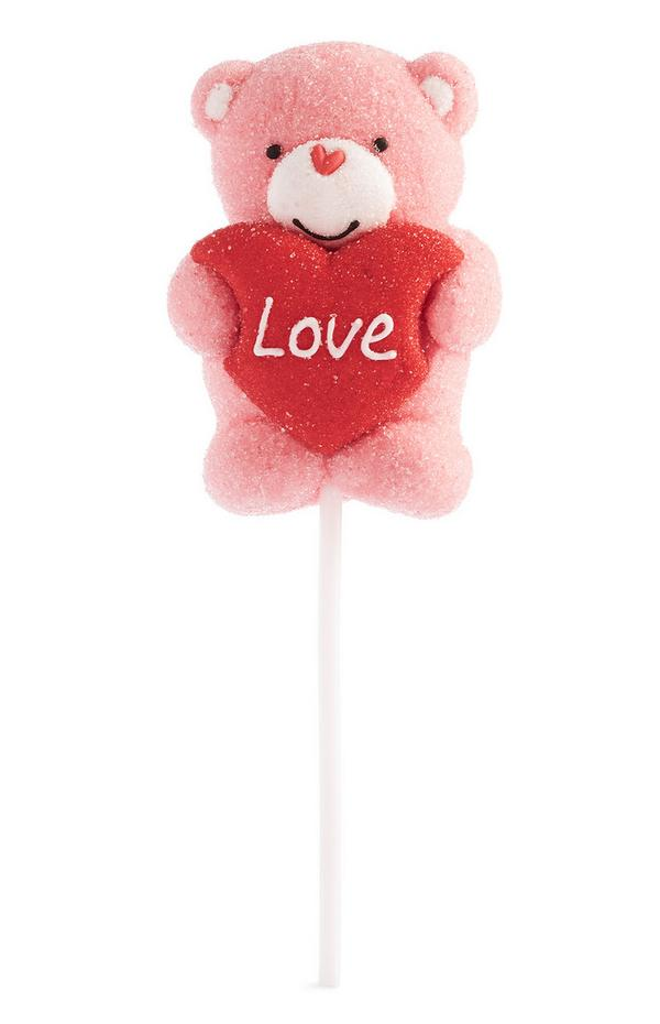 Pink Love Teddy Bear Sweet