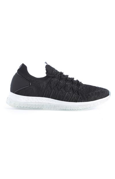 Black Gel Active Trainers