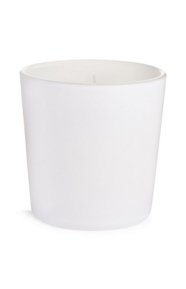 Bougie blanche parfumée Clean Cotton