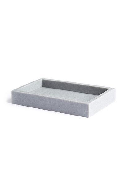 Grey Stone Tray