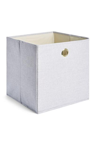 Gray Storage Box