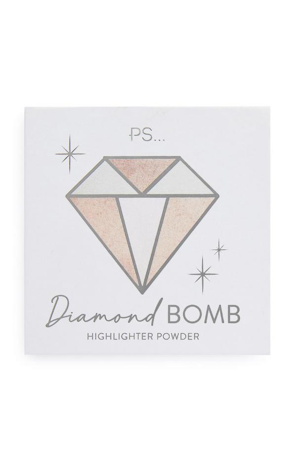 """Diamond Bomb"" Highlighter-Puder"