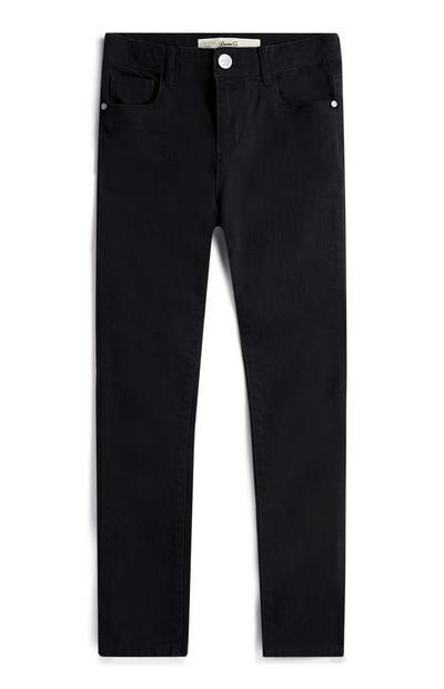 Older Girl Black Skinny Jeans
