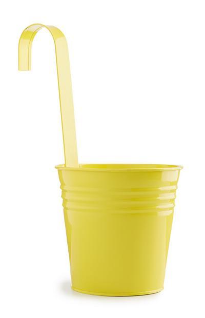 Yellow Hanging Plant Pot