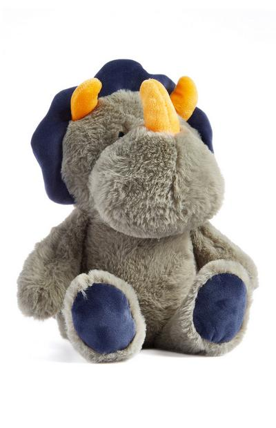 Gray Dinosaur Plush