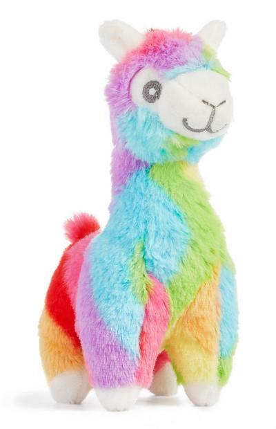 Rainbow Alpacha Toy