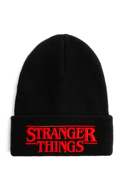 Čra kapa beanie Stranger Things