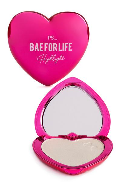 "PS ""Bae For Life"" Highlighter und Kompaktspiegel"