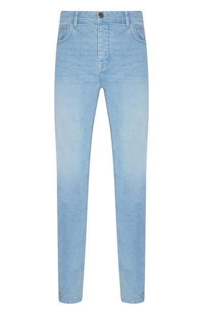 Light Wash Slim Stretch Jeans