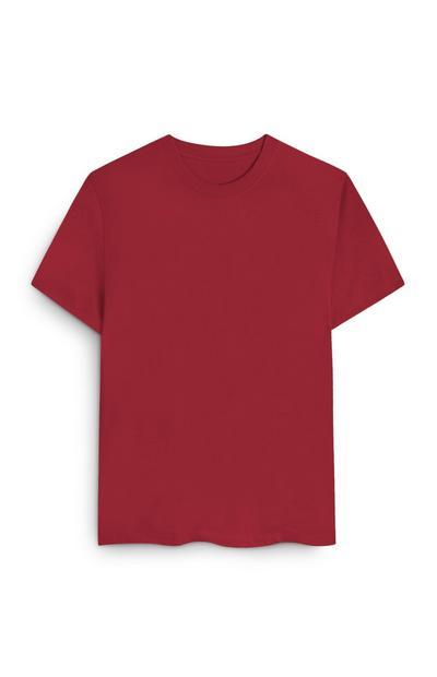Rdeča majica iz organskega bombaža