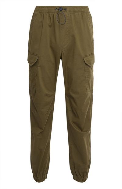 Lightweight Olive Cargo Pants