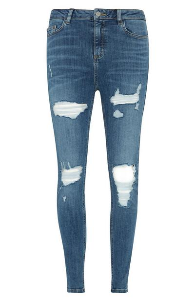 Extreme Rip Skinny Jeans