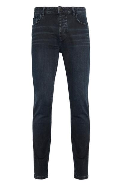 Inky Blue Stretch Slim Jeans