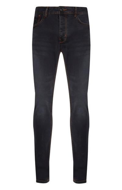 Grey Stretch Slim Leg Jeans