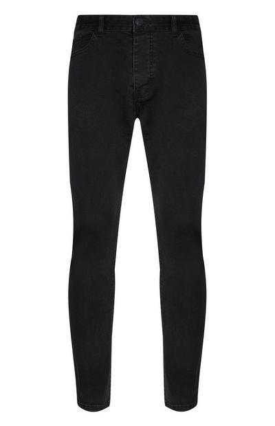 Schwarze Skinny Jeans mit Stretch