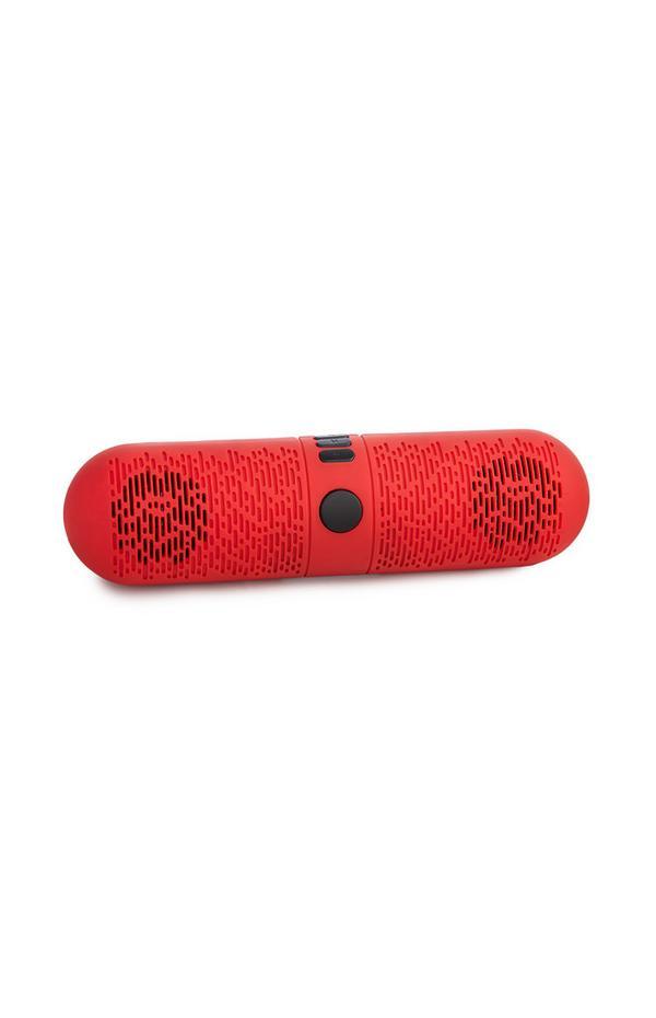 Majhen rdeč brezžični zvočnik