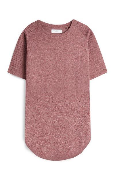 Rdeča daljša majica