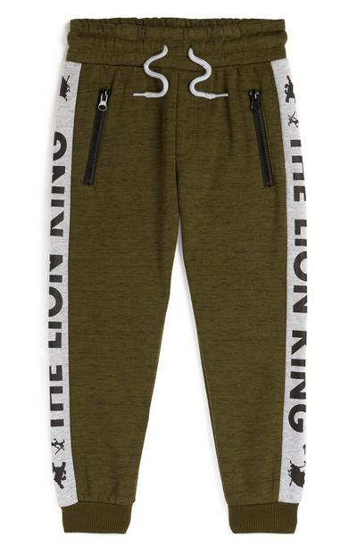 Younger Boy Olive The Lion King Joggers