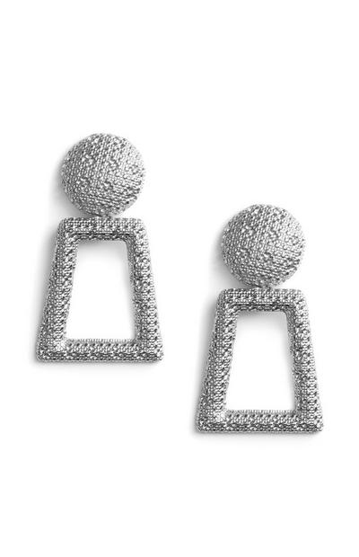 Keyhole Drop Earrings