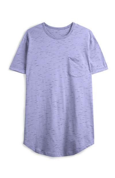 T-shirt met raglanmouwen, paars