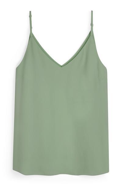 Caraco vert clair