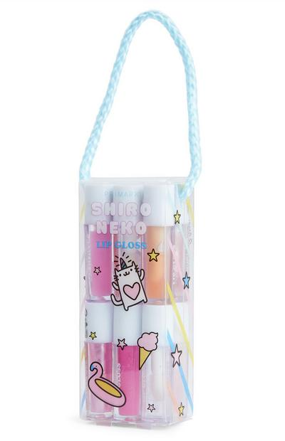 Lot de 12 gloss à lèvres Shiro Neko