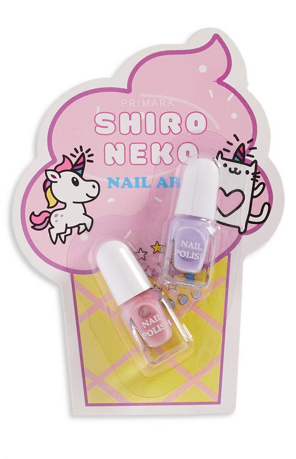 Shiro Neko Nail Polish Set