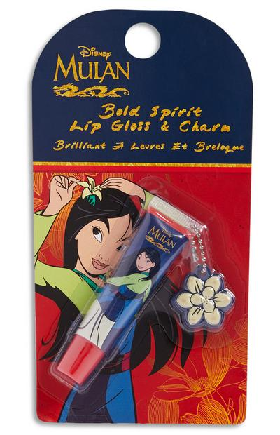 Mulan Lip Gloss and Charm