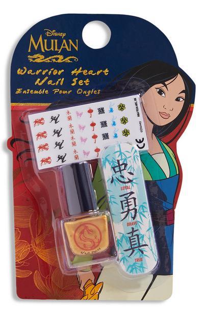 Kit de manucure Mulan
